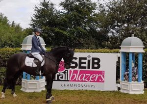Sophie at the SEIB Trailblazers Finals