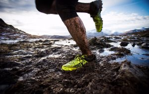 Running in mud can be exhilarating but has its risks!