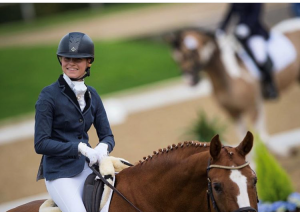 Sophie currently competes at Elementary level dressage