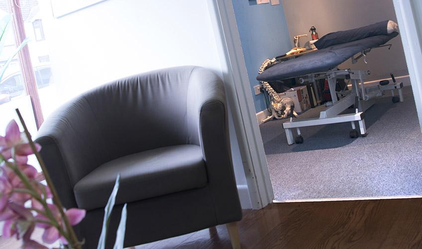 Elite Therapy treatment room